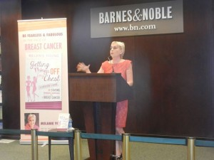 Speaking at Barnes & Noble, Upper West Side, New York City