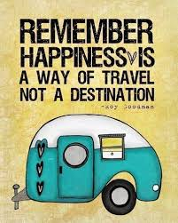 HAPPINESSS IS A WAY OF TRAVEL