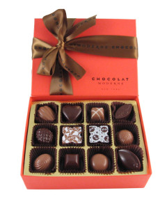 Chocolat Moderne's exquisite packaging
