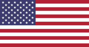 """Flag of the United States"". Licensed under Public Domain via Wikipedia - https://en.wikipedia.org/wiki/File:Flag_of_the_United_States.svg#/media/File:Flag_of_the_United_States.svg"