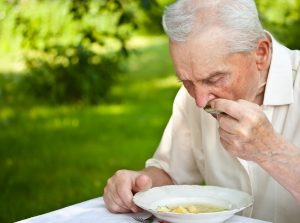 Eating alone can be hard for some seniors. Photo: Grafvision | Dreamstime.com