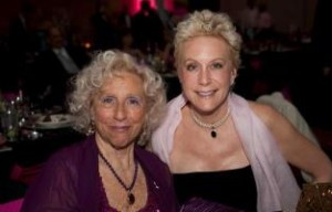 "Melanie with her mother Sonia Young, Chattanooga's beloved ""Purple Lady"""