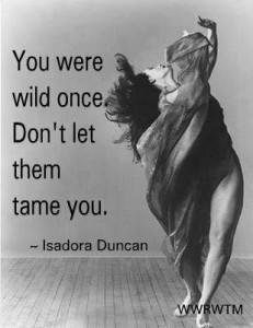 isadora duncan- wild