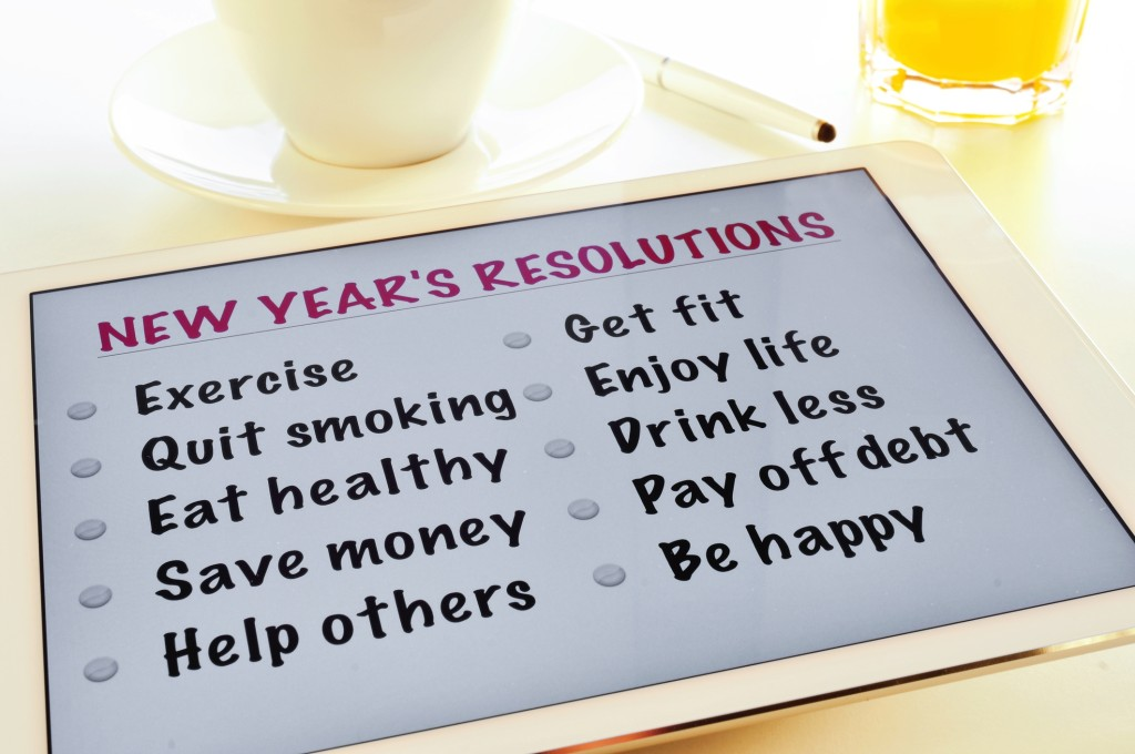 Maybe your New Year's resolution should be aim for less and shorten your list to achieve better results.