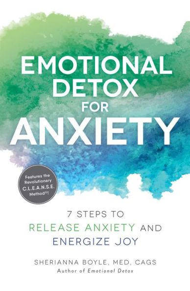Book cover: Emotional Detox for Anxiety